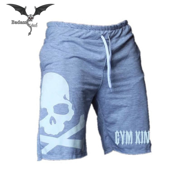 Skull Shorts for Men men shorts Badass Stock