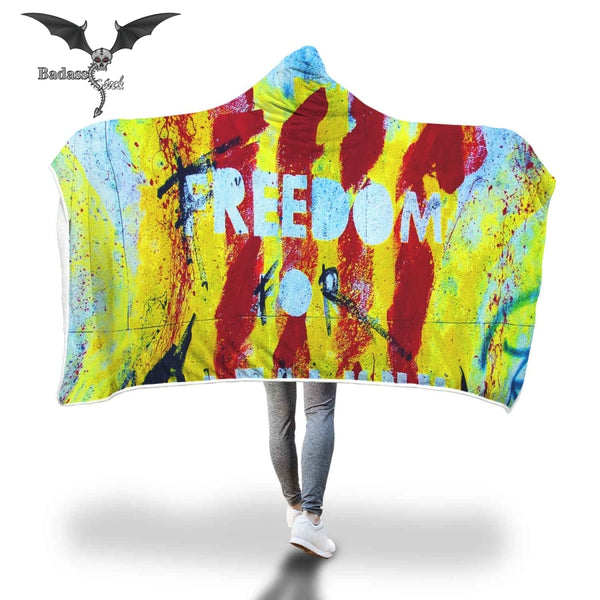 Splash Freedom Hooded Blanket Hooded Blanket Badass Stock