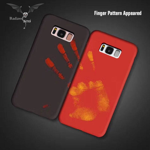 Thermal Sensor Phone Cases For Samsung Galaxy S8 phone case Badass Stock