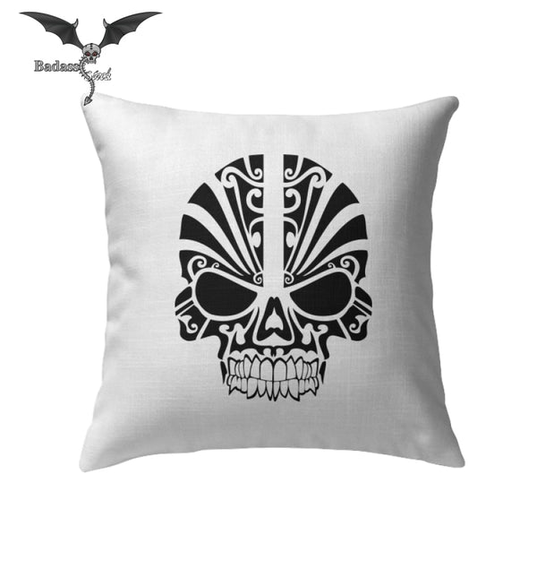 Tribal Skull Pillows Pillows Badass Stock