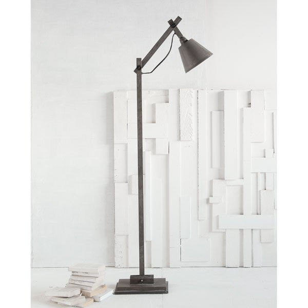 Azrou Floor Lamp, Metal