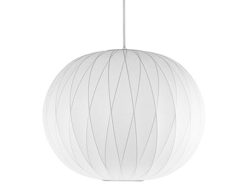 Bubble Pendant Light, Ball Criss-Cross (George Nelson Reproduction)