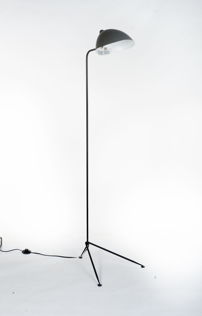 Fly Trap Floor Lamp, 1 Head - Inspired by Serge Mouille
