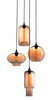 Lambie Pendant Light - Amber