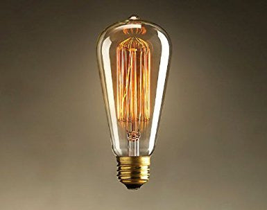 #15 Light Bulb, Squirrel Cage, Marconi 40W