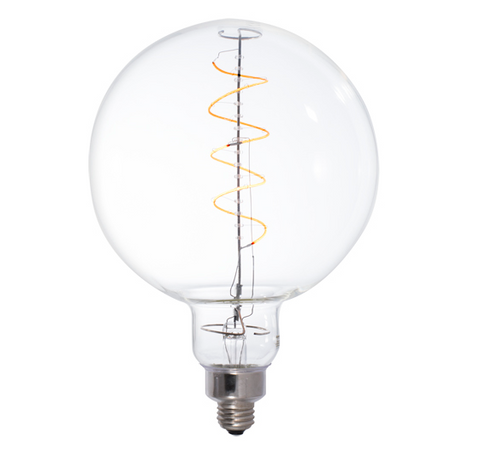 #82, GRAND LED Filament, Round Globe, 4W