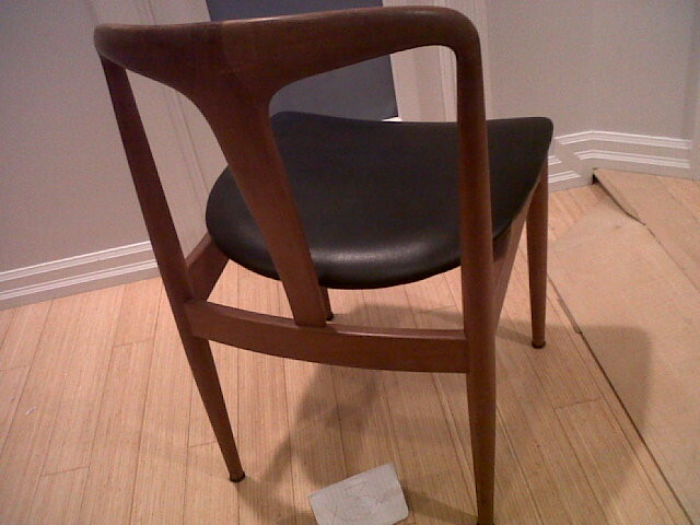 Vintage Danish Modern Teak Dining Chair