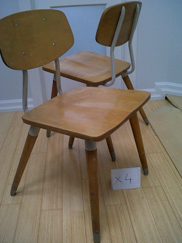 "Vintage ""Tom Dix"" Original Dining Chair"