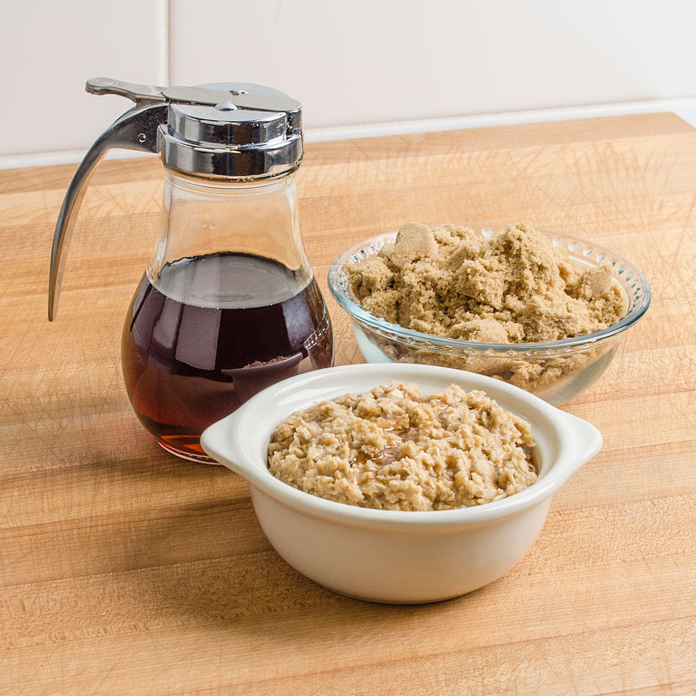 Maple and Brown Sugar Fluffy Oatmeal