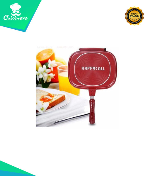 60% OFF - DOUBLE SIDED MULTIPURPOSE FRYING PAN