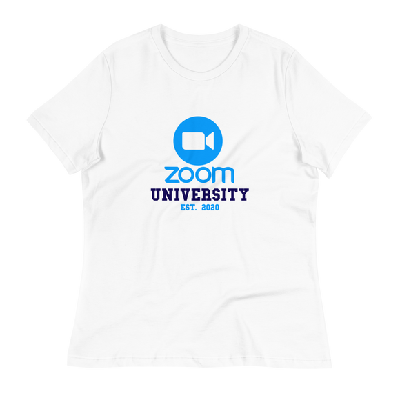 Zoom University Tee (Relaxed Ladies Fit)