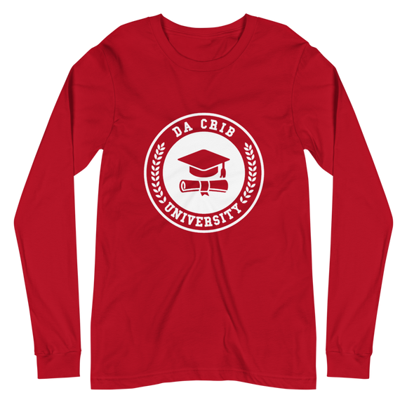 Da Crib university Long Sleeve Tee