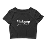 Makeup Junkie Crop Tee