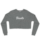 Beautie Crop Sweatshirt