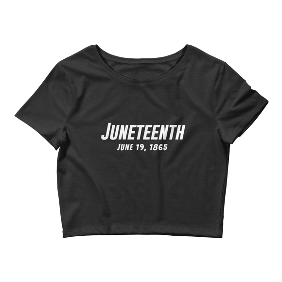 Juneteenth Crop Tee