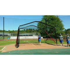 BATCO Collapsible Home Plate Portable Batting Cage Hitting Turtle