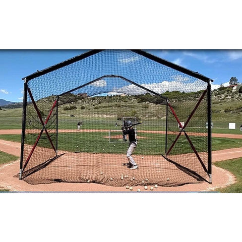 BATCO Collapsible Home Plate Batting Cage