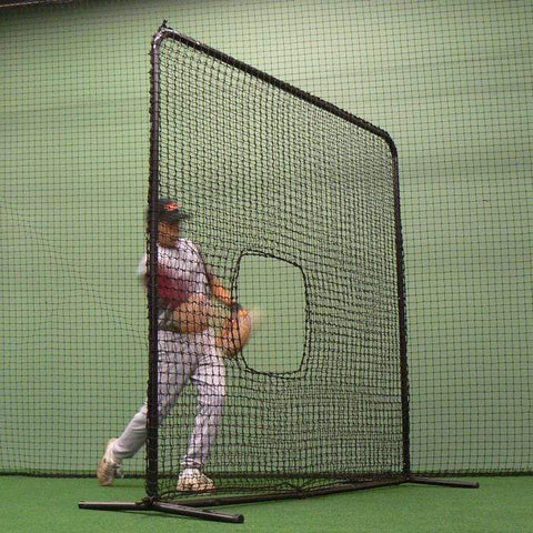 BCI 7' x 7' Pitcher Softball Protective Screen BBK-SB-SQSCR-7X7-W-SB PNET