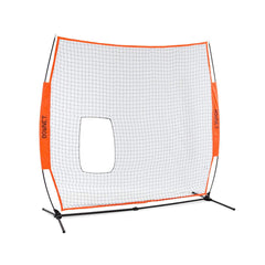 Bownet 7' x 7' Softball Pitch Thru Screen w/ Frame BowSC-R Combo