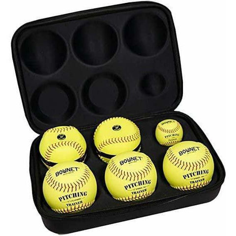 Bownet Softball Pitch Kit Ultimate Pitchers Training Ball Kit BN-PITCH KIT FP