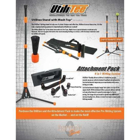 Bownet UtiliTee 4-in-1 Accessory Attachment Pack Util-Acces