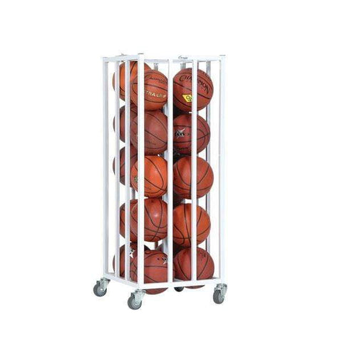 Champion Sports 20 Ball Deluxe Vertical Basketball Cage 20BC