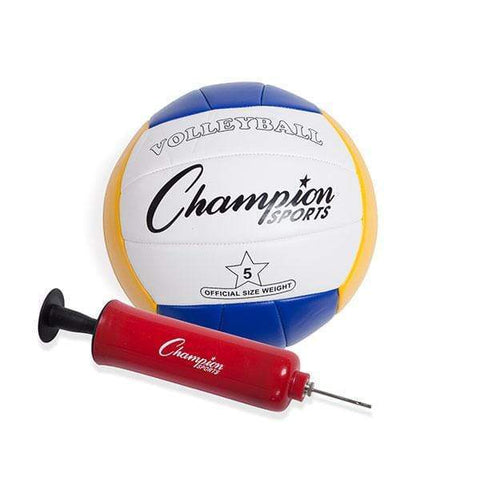 Champion Sports Deluxe Volleyball/Badminton Tournament Set CG202