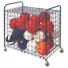 Champion Sports Full Size Lockable Ball Storage Locker Cage LFX
