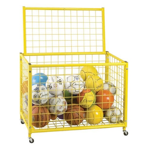 Champion Sports Full Size Lockable Ball Storage Locker LRCL
