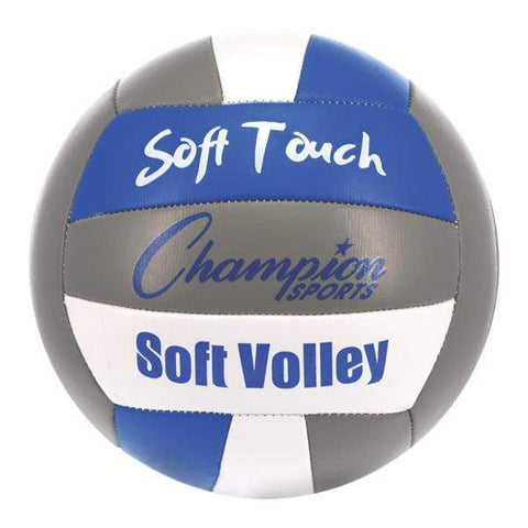 Champion Sports Official Size Soft Touch Volleyball VB6