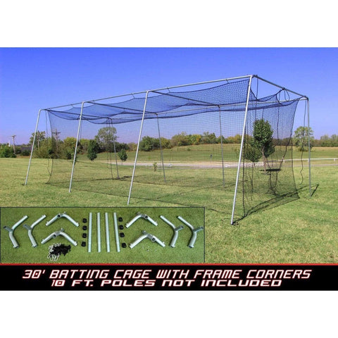 Cimarron #24 Batting Cage Net with Frame Corner Kit