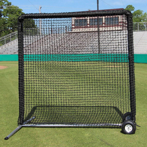Cimarron 7' x 7' #84 Field Protection Screen w/ Wheels & Padding CMH-7x784PFieldNFWP