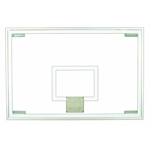 "First Team 48"" X 72"" Official Glass Backboard FT236"
