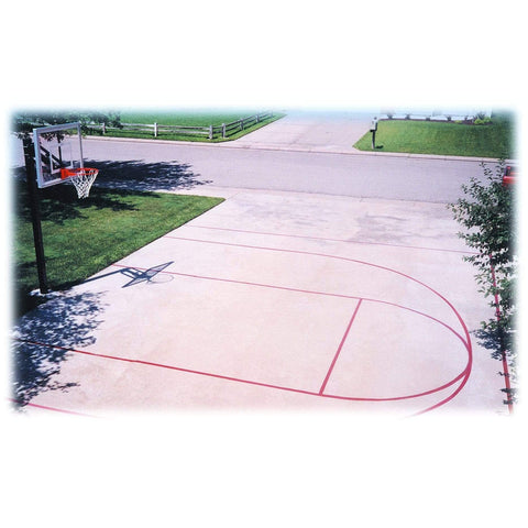 First Team Basketball Court Stencil Kit FT20