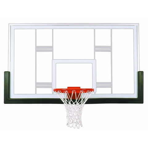 "First Team Contender 42"" x 72"" Basketball Backboard Upgrade Package"