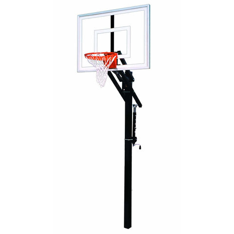 First Team Jam Adjustable In-Ground Basketball Goal