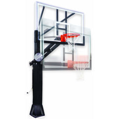 First Team Stainless Olympian In Ground Adjustable Basketball Goal