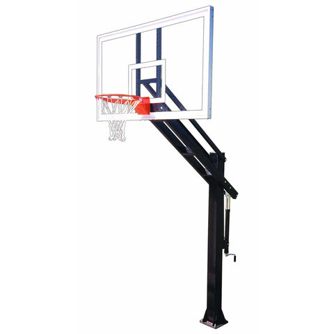 First Team Titan In Ground Adjustable Basketball Goal
