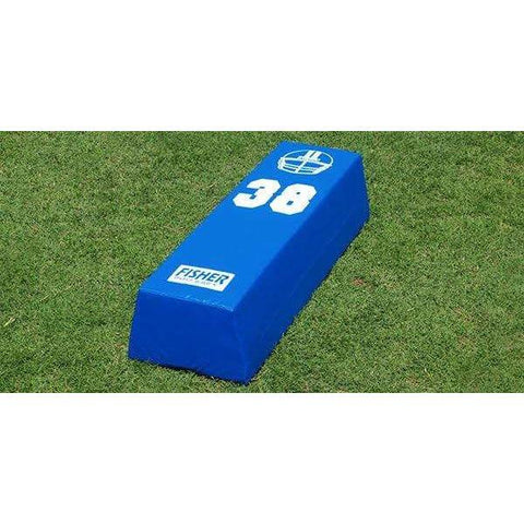 "Fisher 48""L x 10""H x 18""W Football Stepover Agility Dummy SO4838"