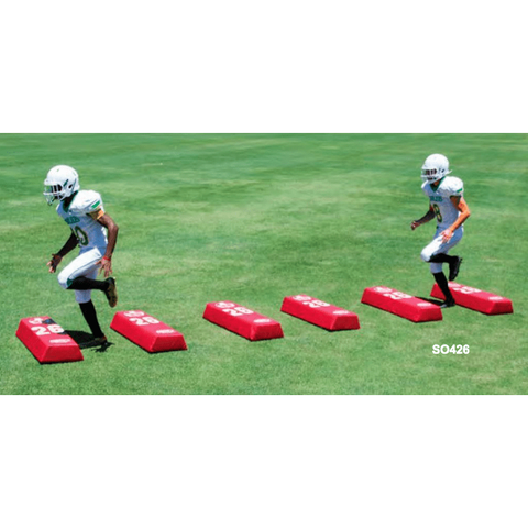 "Fisher 48""L x 8""H x 18""W Football Stepover Agility Dummy SO488"