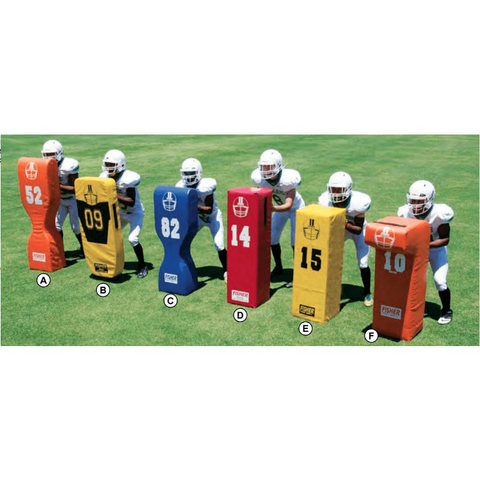 "Fisher 50"" T Square Stand Up Football Blocking Dummy SD14"