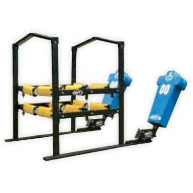 Fisher Athletic 12-Arm Power Blaster with Boomer Sled BLA129002