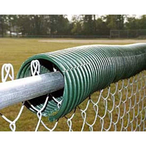 Fisher Athletic 250' Forest Green Corrugated Fence Top BFC250FG