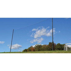 "Fisher Athletic 4'' SQ Sports Field Netting with 21' 3"" Pipe"