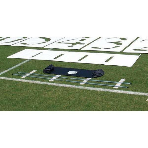 Fisher Athletic 6' H Football Deluxe Package Stencil Set w/ Bag 3600DLX