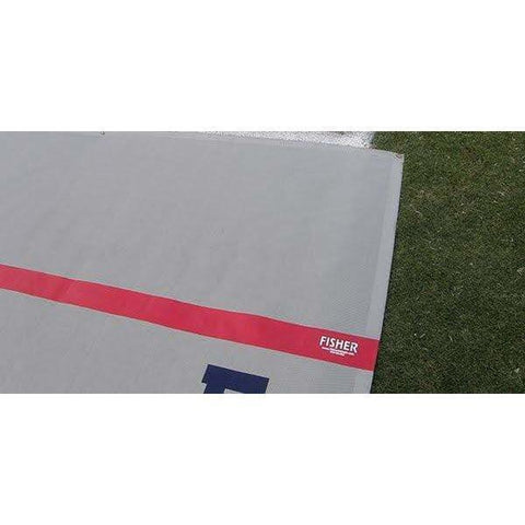 "Fisher Athletic Coaches Box with 4"" Stripe for Sideline Protector"