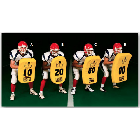 Fisher Athletic Curved Body Youth Football Blocking Shield HD100