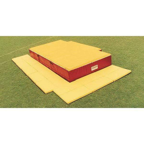 Fisher Athletic High Jump Pit Tri-Mat Safety Pads