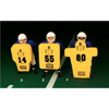 Image of Fisher Athletic Man Shaped Youth Football Blocking Shield HD800