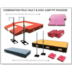 Fisher Combination Pole Vault & High Jump Pit Package PVHJ2624C